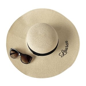 Personalized Natural Straw Sun Hat image