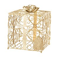 Wedding Card Boxes | Birdcage Card Box Holder @ Wedding Favors Unlimited