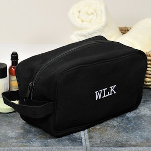 Personalized Canvas Travel Toiletry Bag image