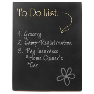 To Do List Chalkboard Sign image