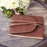 Personalized Leather Guest Book Journal