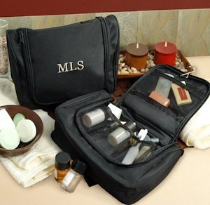 Personalized Custom Hanging Toiletry Bag image