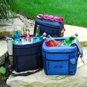 Stay-Cooler Tote with Cell Phone Pocket image