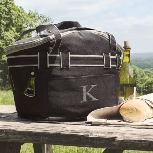 Personalized Collapsible Picnic Basket Cooler Tote image