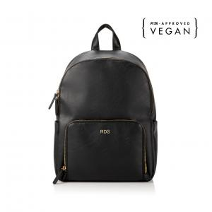 Personalized Vegan Leather Backpack image