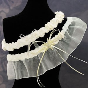 Beach Collection Wedding Garter image