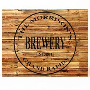 Brewery Aluminum Bar Sign image