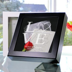 Keepsake Shadow Box - Black or White (3 Designs) image