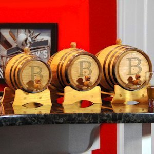 Bluegrass Personalized Whiskey Barrels (3 Sizes) image