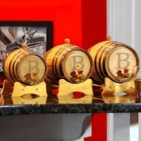 Bluegrass Personalized Whiskey Barrels (3 Sizes)