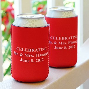 Personalized Can Huggers (Set of 6) image