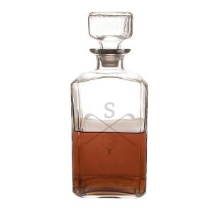 Personalized 34 oz. Golf Glass Decanter image