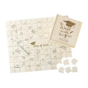 Graduation Puzzle Guestbook image