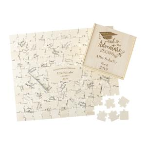 Personalized Graduation Puzzle Guestbook image