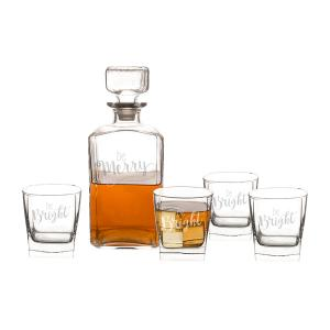 Be Merry Decanter Set image