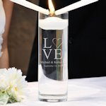 Love Collection Floating Unity Candles (2 Designs)