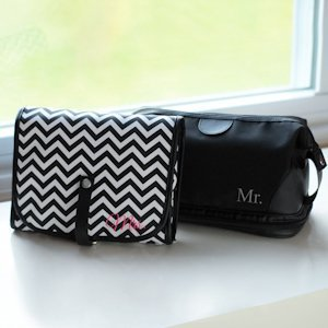 Mr. and Mrs. Travel Bags Set image