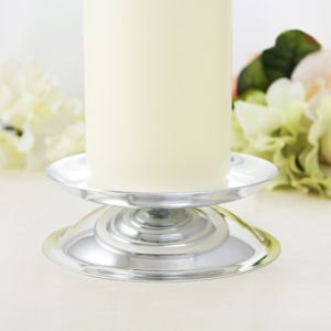 Silver Candle Holder image