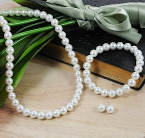 Pearl Jewelry Set (3 Pieces) image