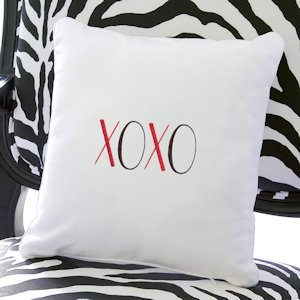 XOXO Throw Pillow image