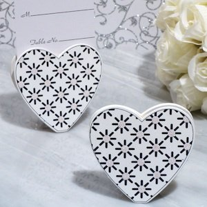 Stylish Heart Place Card Holders image