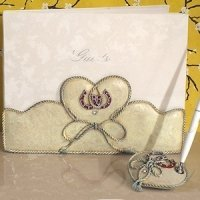 Lucky in Love Western Wedding Accessory Set