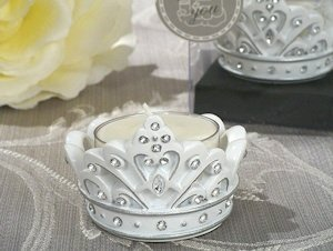 Sparkling Tiara Candle Holders image