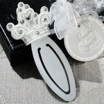 Sparkling Tiara Bookmark Favors