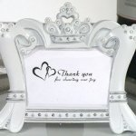 Sparkling Tiara Photo Frame Favors