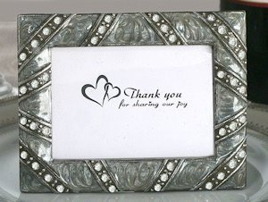 Stylish Jewels Photo Frame Favors image