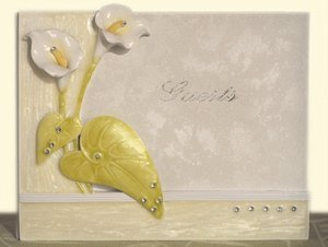 Elegant Lily Collection Guest Book image
