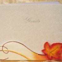Splendid Autumn - Fall Wedding Guest Book