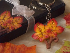 Splendid Fall Themed Key Ring Party Favors image