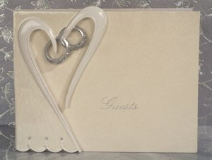 Two Become One Guest Book image