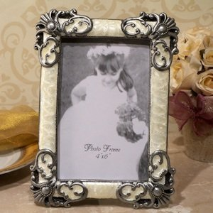 Classic Victorian Design Ivory Photo Frames image