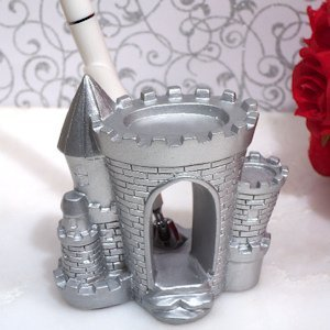 Silver Castle Pen Set image