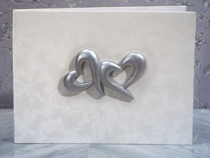 Two Hearts Beat as One Guest Book image