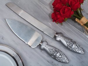 Royalty for a Day Crown Cake and Knife Server Set image