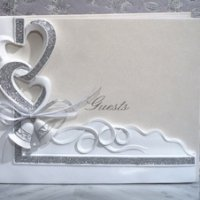 Wedding Bells Guest Book