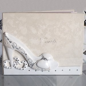 Belle of The Ball Shoe Design Guest Book image