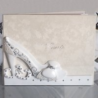 Belle of The Ball Shoe Design Guest Book