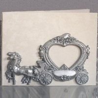 Enchanted Wedding Coach Guest Book