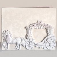 Enchanted Fairytale Wedding Coach Guest Book