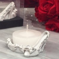 Belle of the Ball Shoe Design Candle Holder