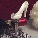 Belle of the Ball Slipper Bottle Stopper Favor