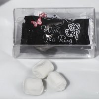 With This Ring Design Mint Candy Favors