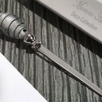 Art Deco Black and Silver Letter Opener Favors
