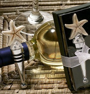 Starfish Design Wine Stopper image