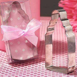Baby Bottle Cookie Cutter - Girl image