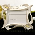 Elegant Calla Lily Photo Frame and Place Card Holder